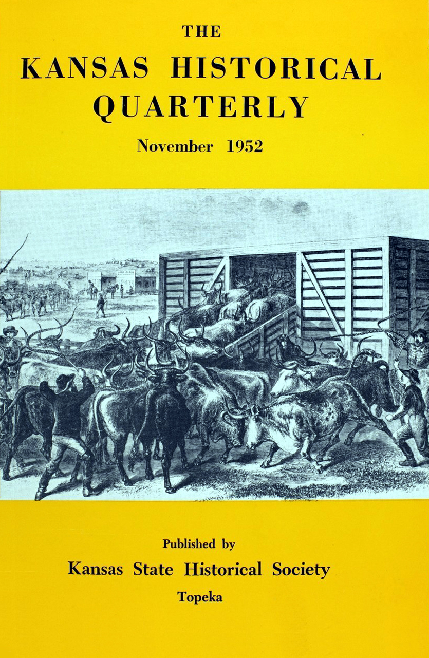 Kansas Historical Quarterly, November 1952
