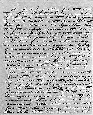 Douglas County KS grand jury recommendation, May 1856, document 1