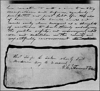 Douglas County KS grand jury recommendation, May 1856, document 2