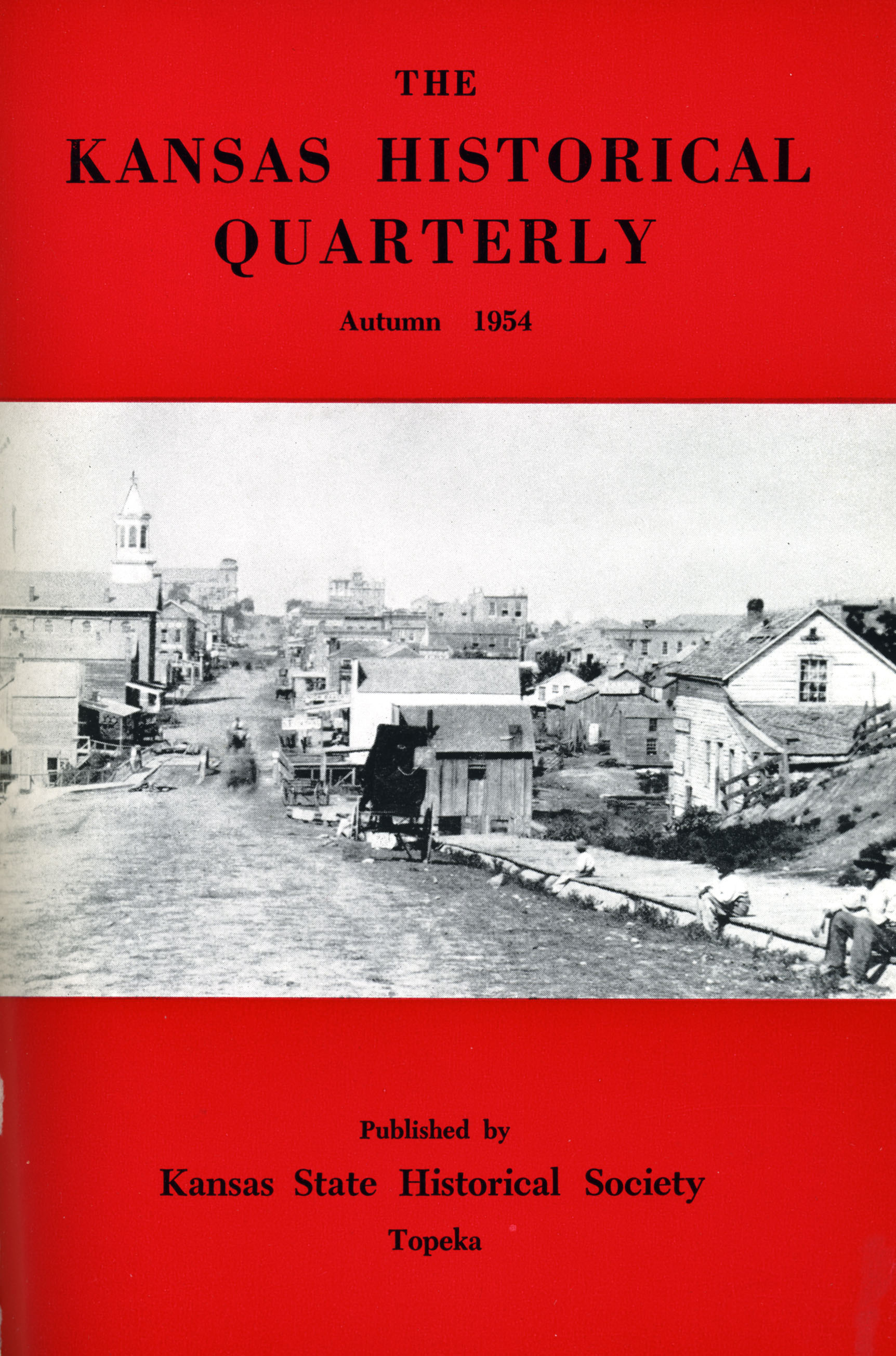 Kansas Historical Quarterly, Autumn 1954