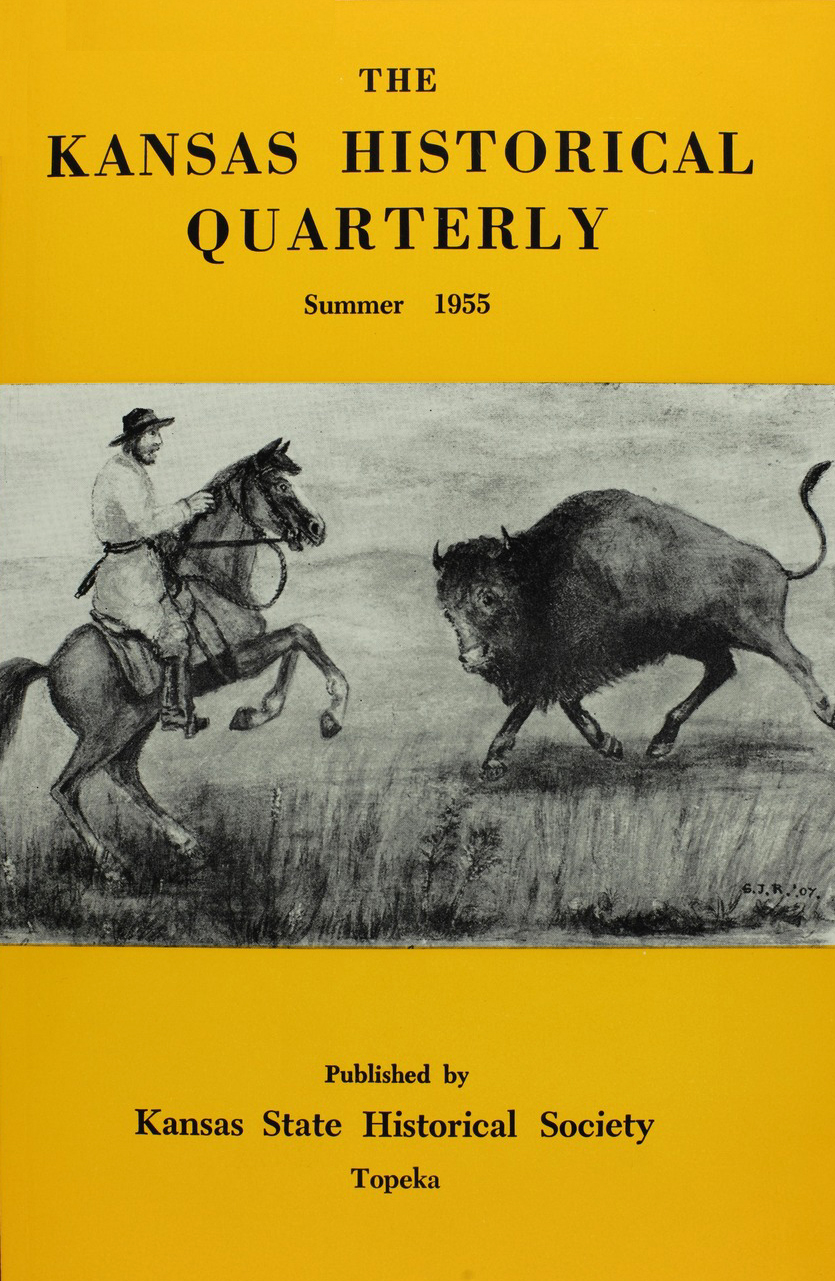 Kansas Historical Quarterly, Summer 1955