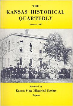 Kansas Historical Quarterly, Summer 1957
