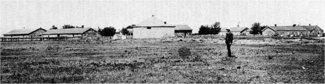 Fort Larned looking northwest 1886