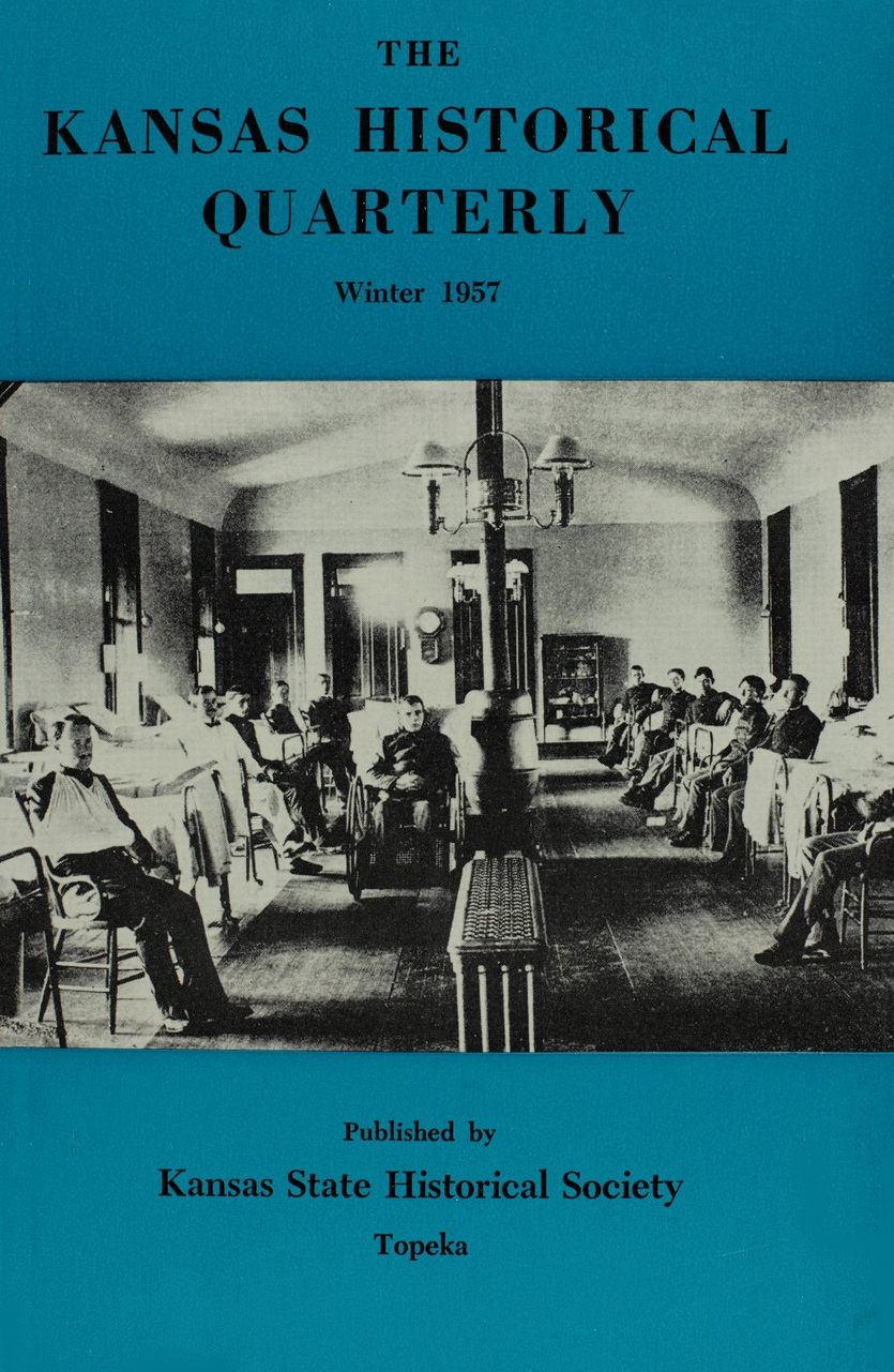 Kansas Historical Quarterly, Winter 1957