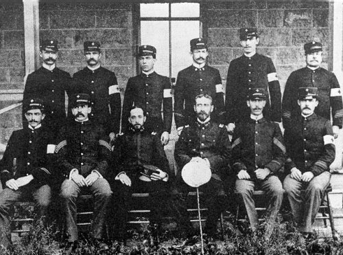 Medical detachment in 1900