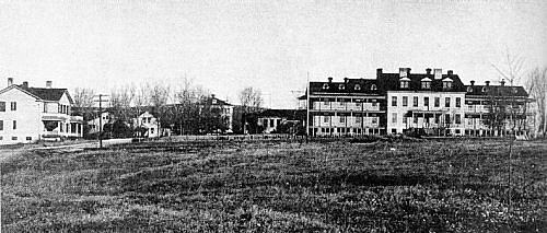 Permanent hospital group, 1926.