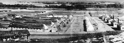 Portion of medical officers' training camp, World War I.