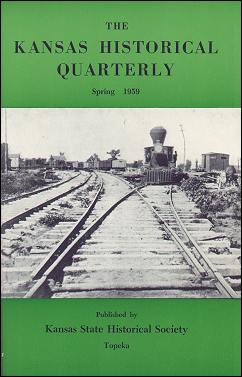 Kansas Historical Quarterly, Spring 1959