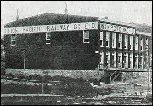 Railway company office 