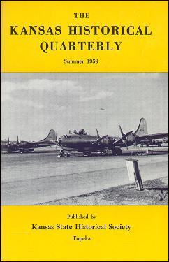 Kansas Historical Quarterly, Summer 1959