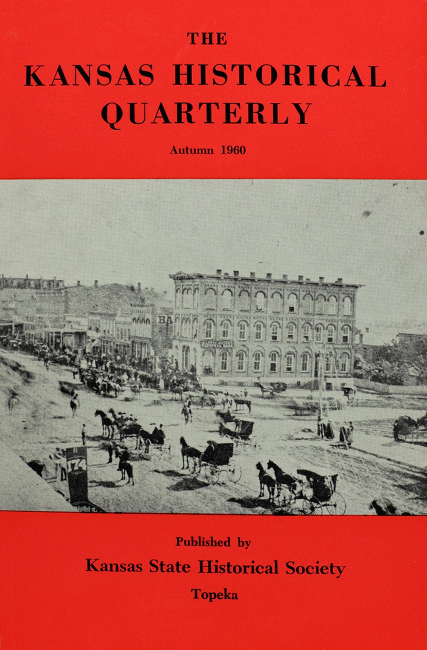 Kansas Historical Quarterly, Autumn 1960