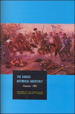 Kansas Historical Quarterly, Autumn 1961
