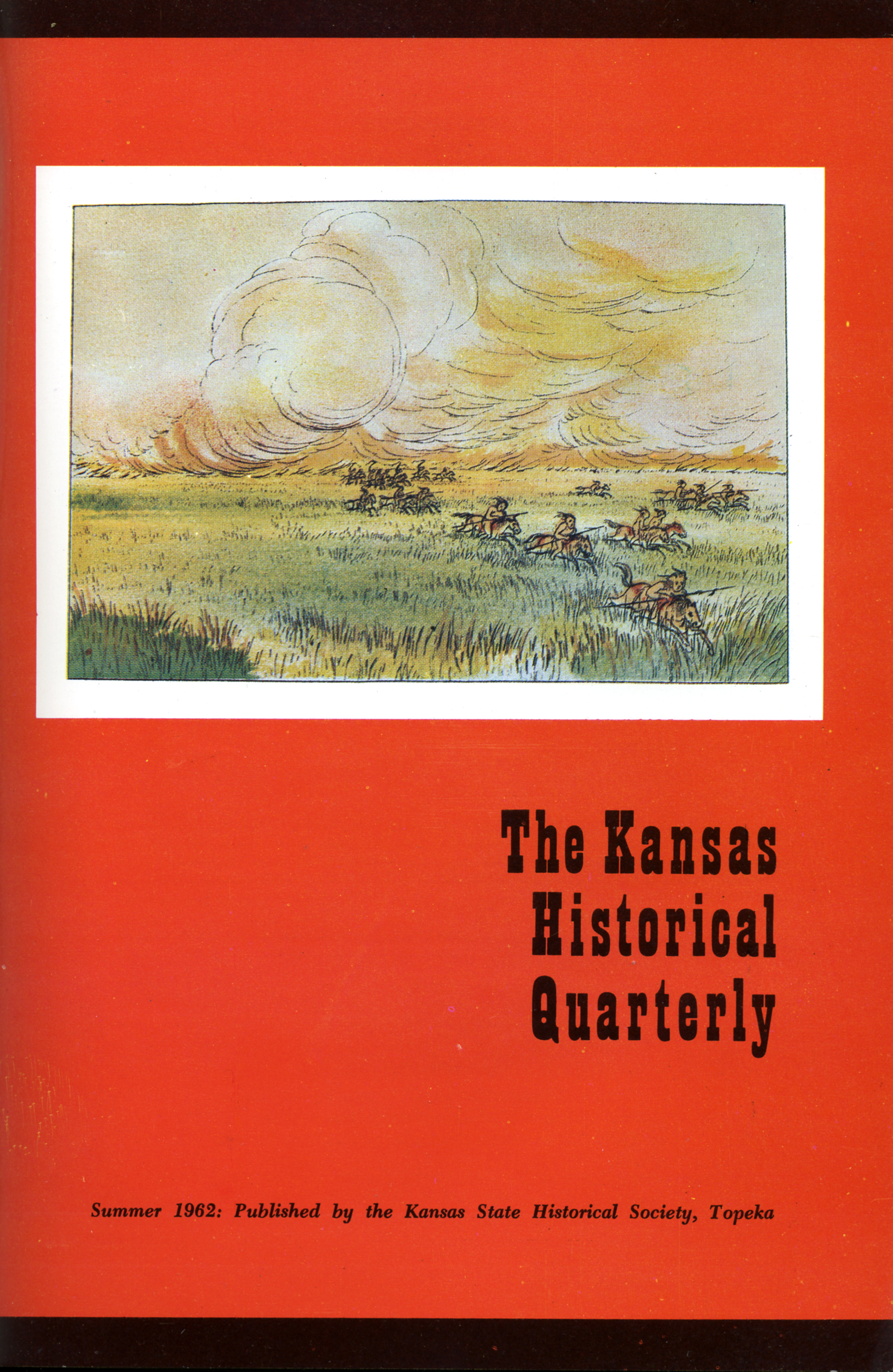 Kansas Historical Quarterly, Summer 1962