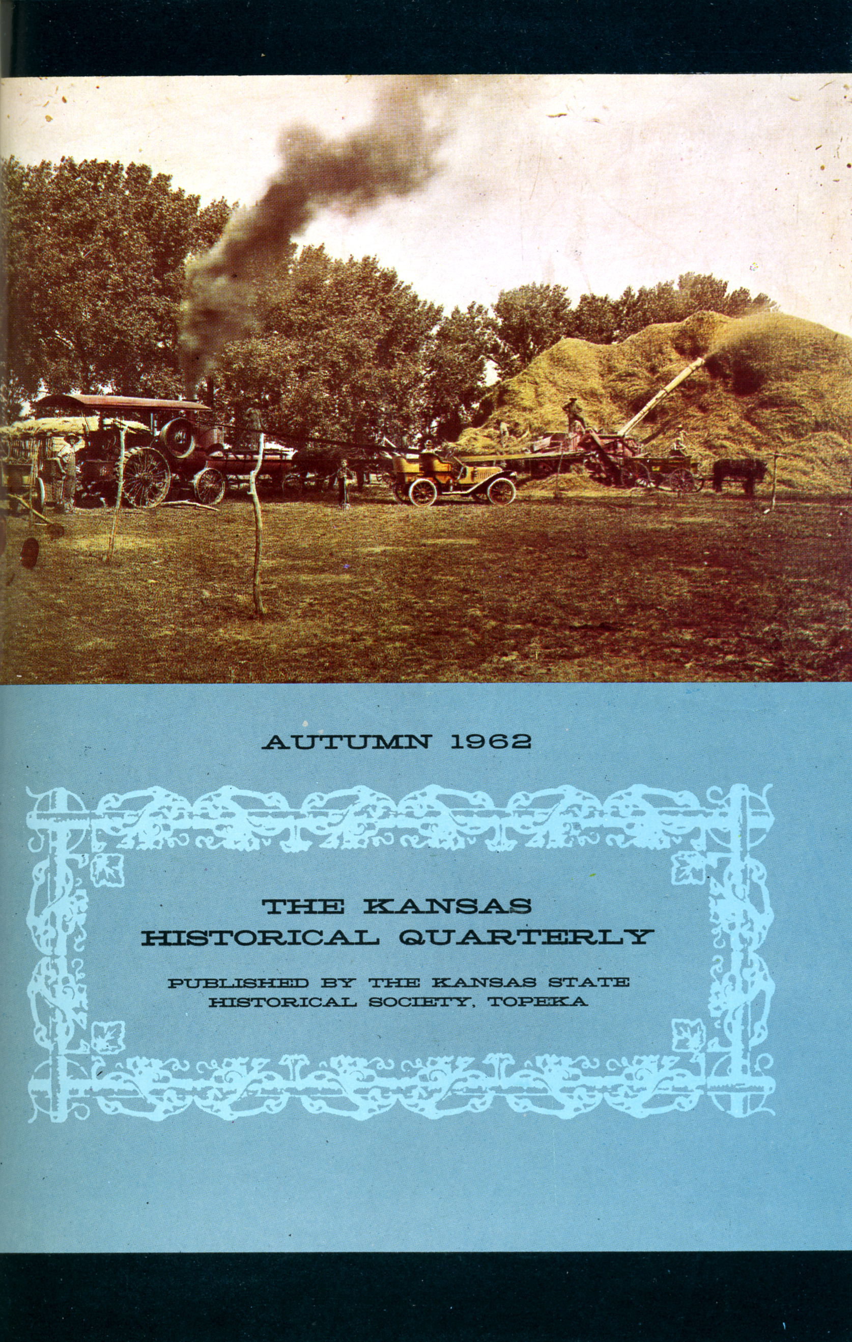 Kansas Historical Quarterly, Autumn 1962