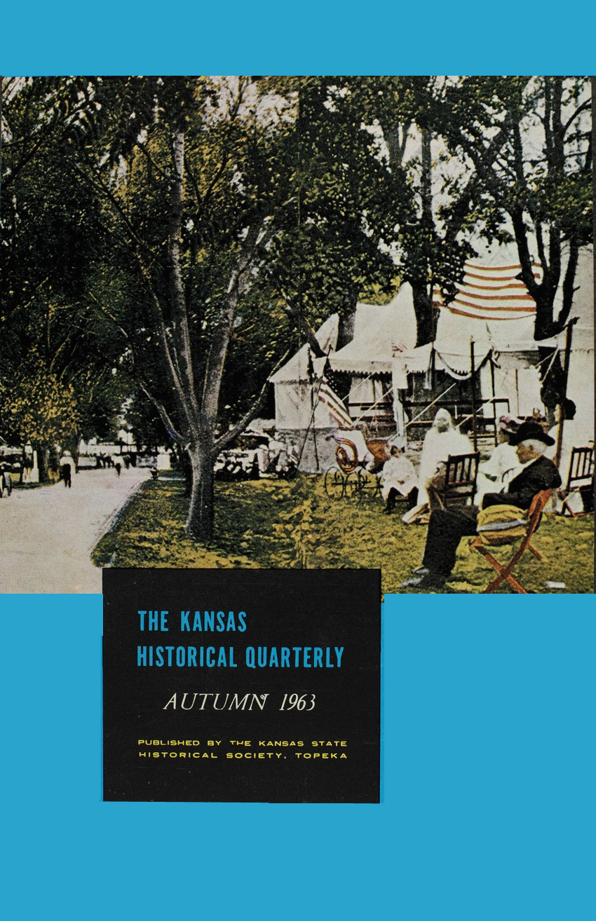 Kansas Historical Quarterly, Autumn 1963