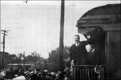 Theodore Roosevelt at Osawatomie KS, Aug. 31, 1910