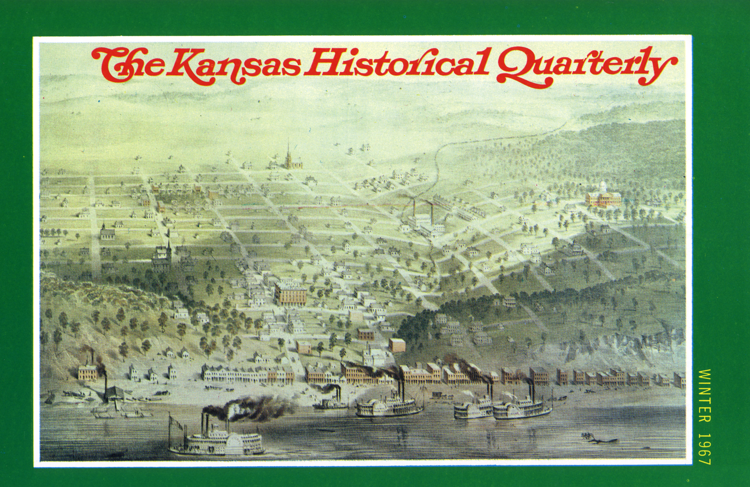 Kansas Historical Quarterly, Winter 1967