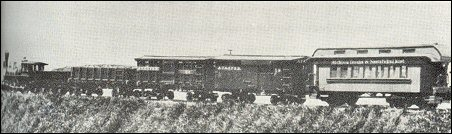 Early train of the AT&SF
