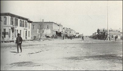 Larned in 1880's