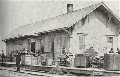 Larned freight depot