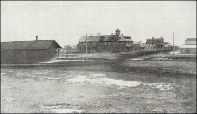 Santa Fe Depot at Spearville
