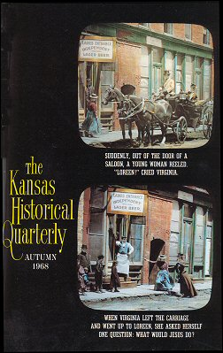 Kansas Historical Quarterly, Autumn 1968
