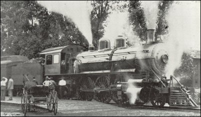 Number 1017 locomotive