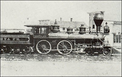 The Santa Fe locomotive