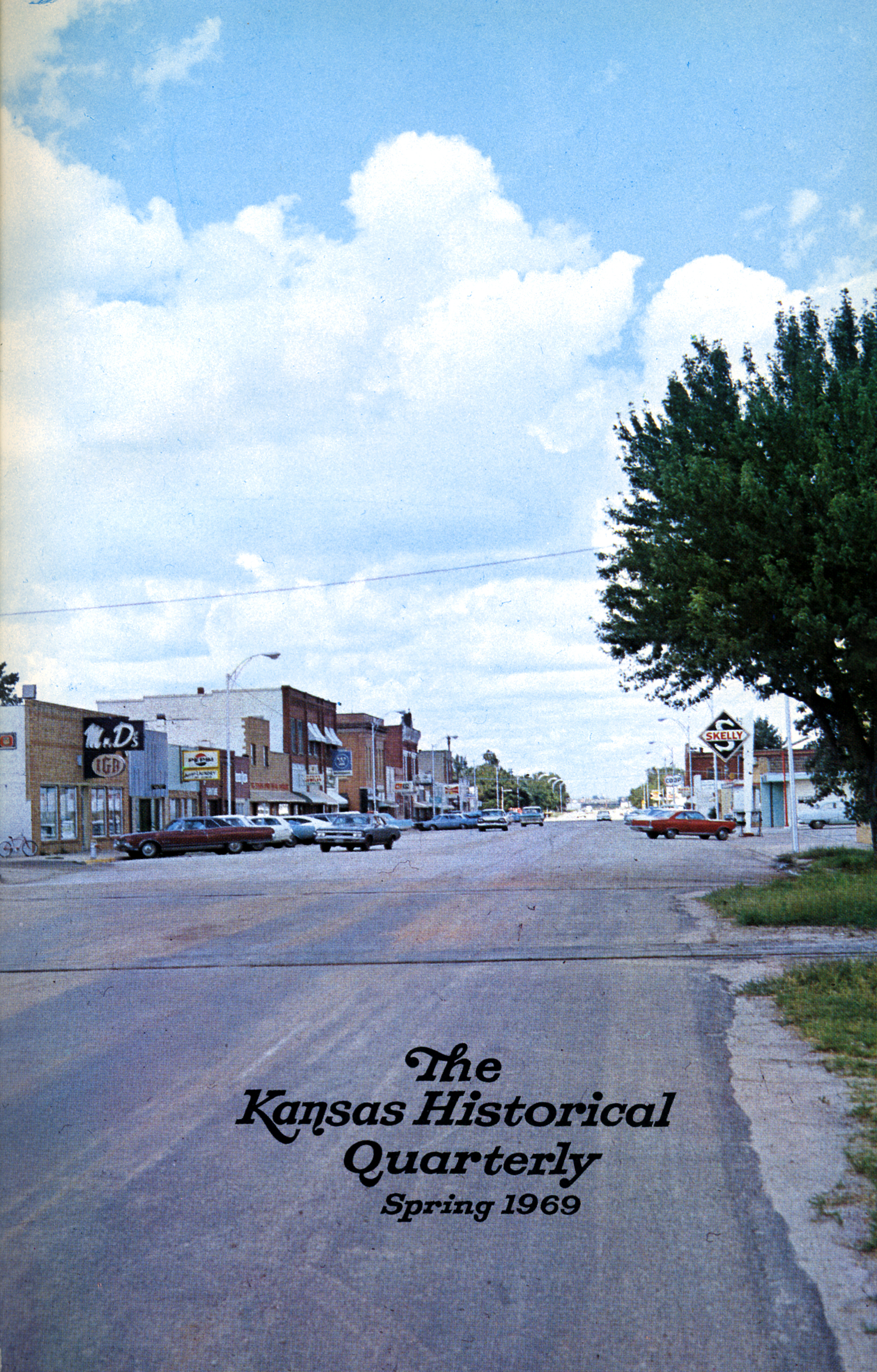 Kansas Historical Quarterly, Spring 1969
