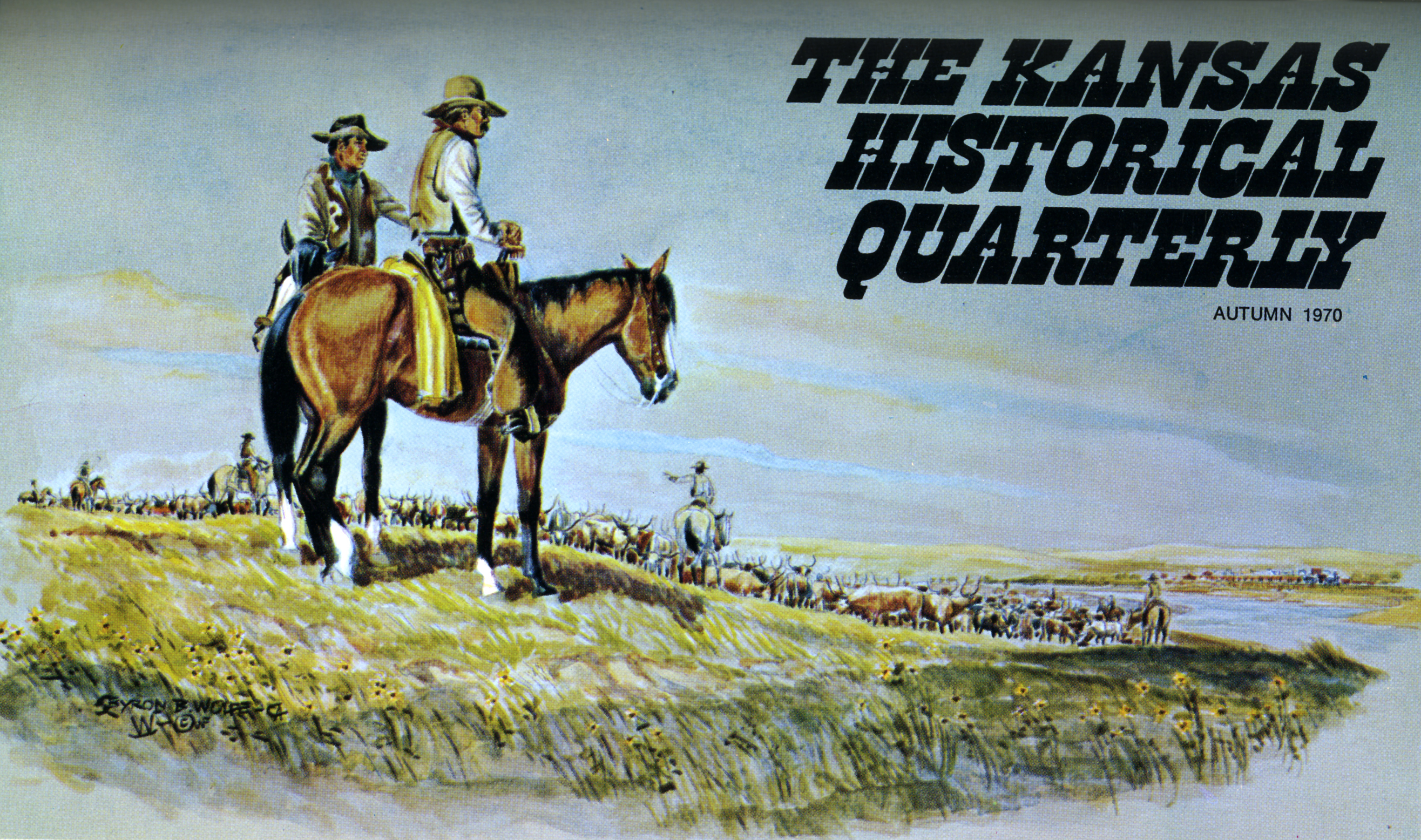 Kansas Historical Quarterly, Autumn 1970