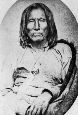 Satank Kiowa war chief