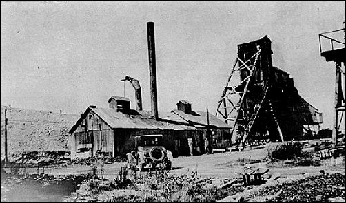 Crowe Company No. 16 shaft mine, 1920's