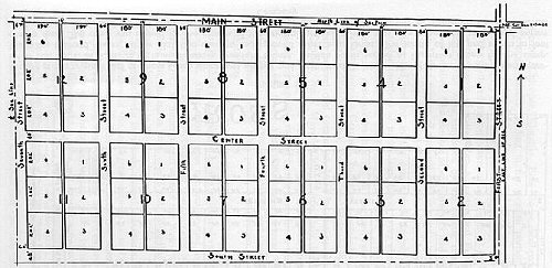Plat of Capaldo Camp, 1912