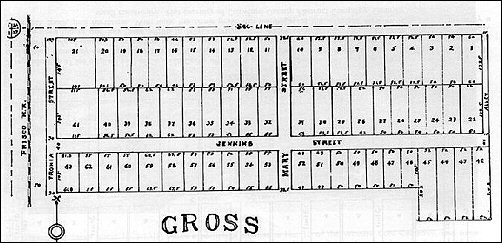 Plat of Gross Camp, 1914