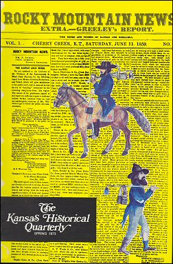 Kansas Historical Quarterly, Spring 1973