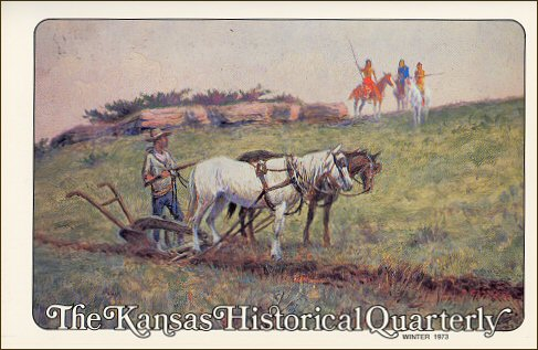 Kansas Historical Quarterly, Winter 1973