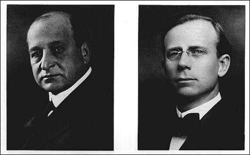 Kansas Gov Henry Allen and Atty Genl Richard Hopkins, 1920's