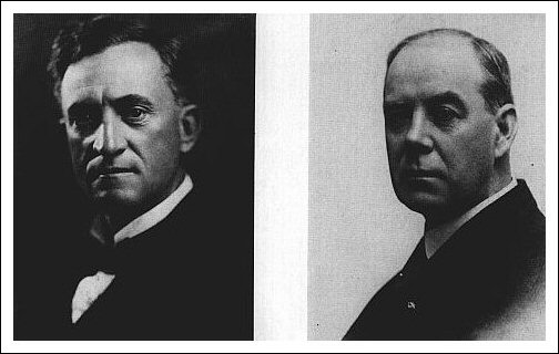 Kansas atty genl Charles B. Griffith & KKK defense atty John S. Dean, 1920's