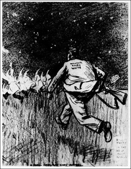 Rollin Kirby cartoon in N.Y. World, 1924