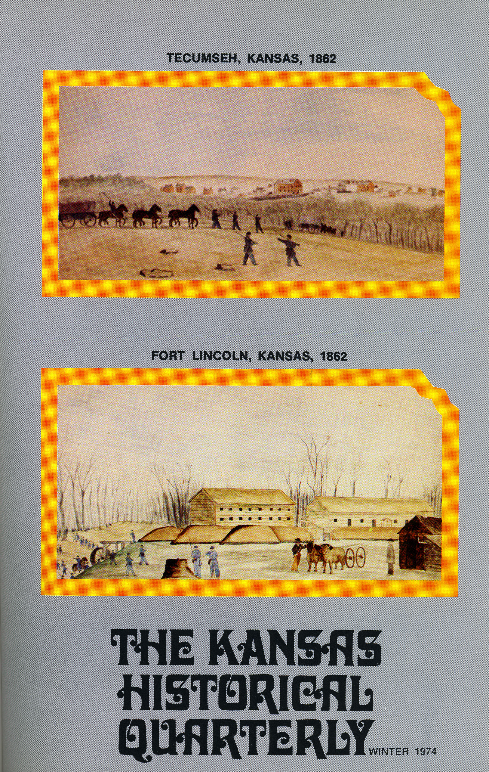 Kansas Historical Quarterly, Winter 1974