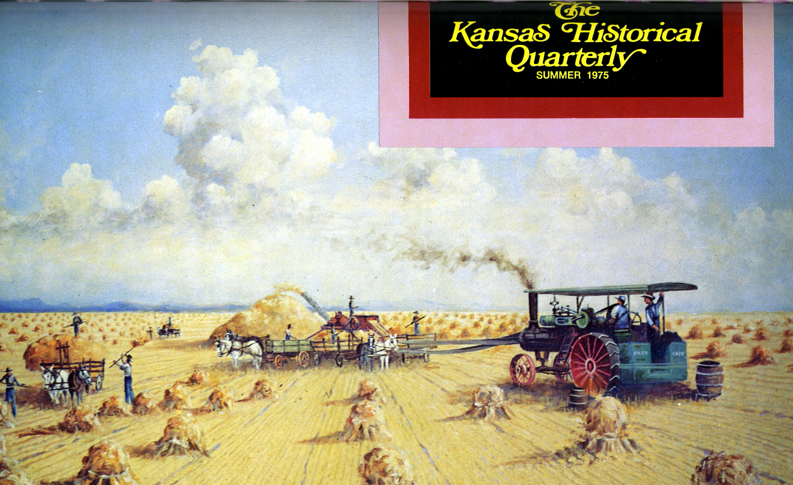 Kansas Historical Quarterly, Summer 1975