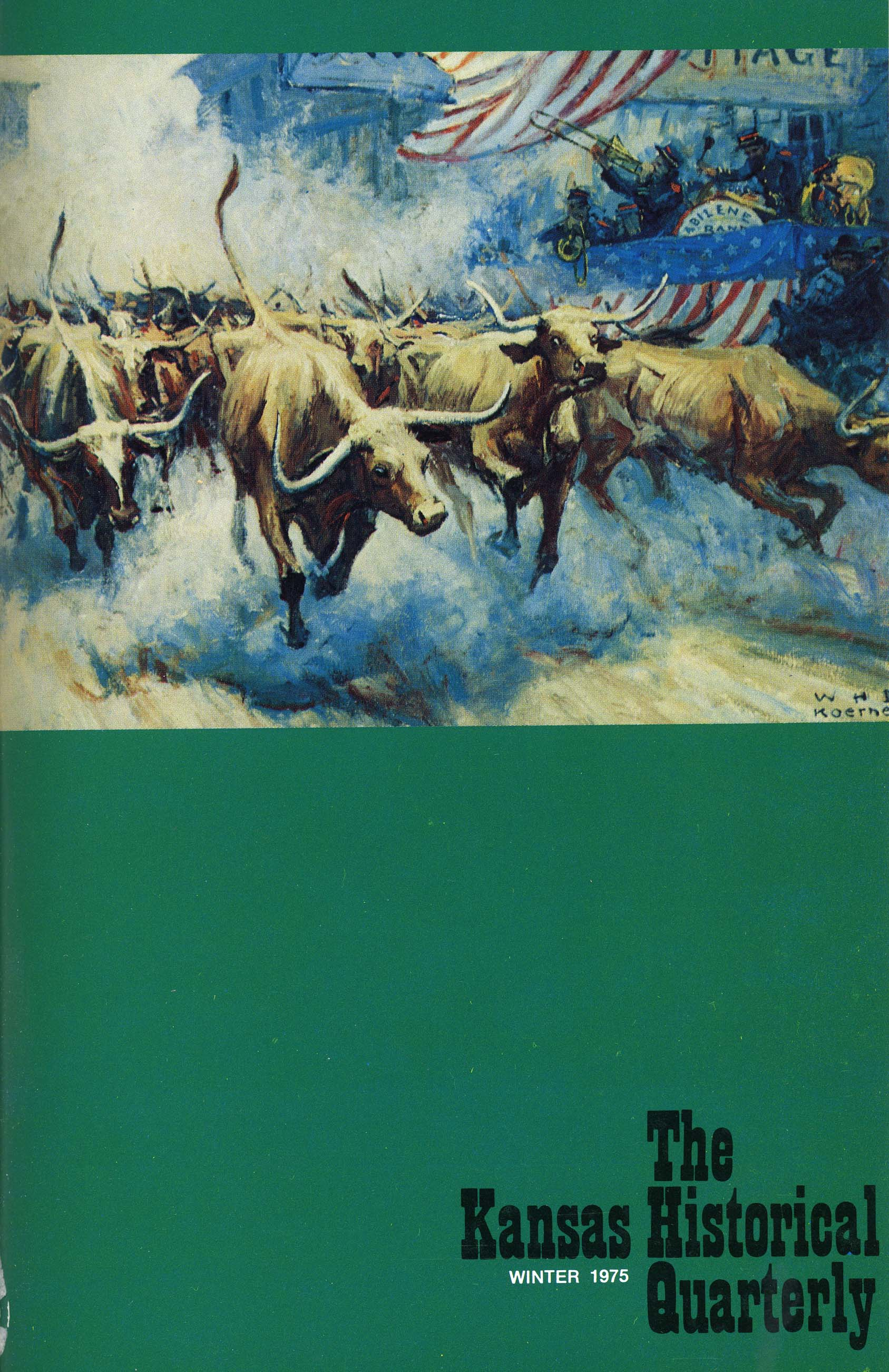 Kansas Historical Quarterly, Winter 1975