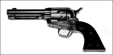 The Colt .45 revolver purchaed by