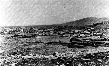 Tombstone AZ about 1881, looking southeast