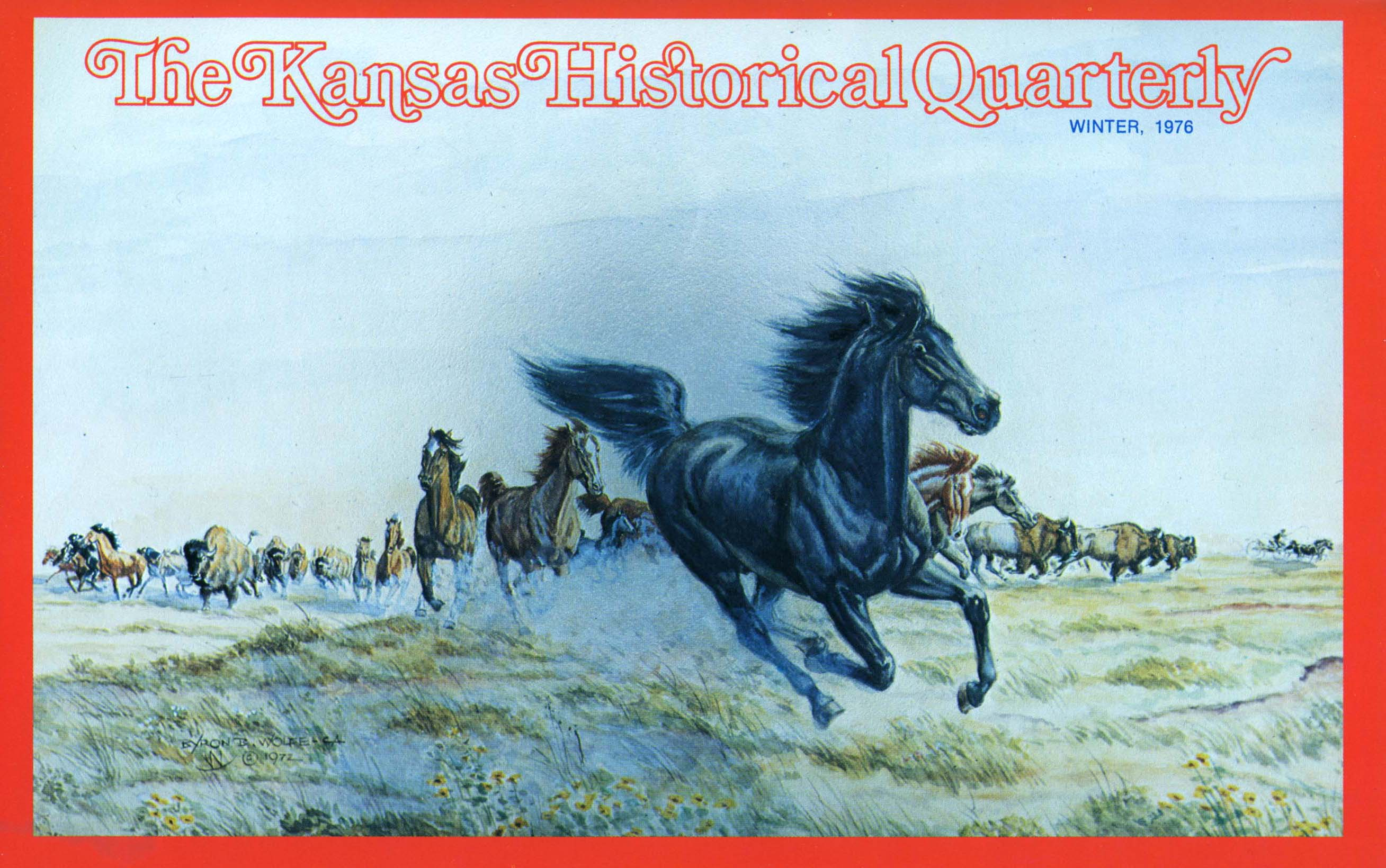Kansas Historical Quarterly, Winter 1976