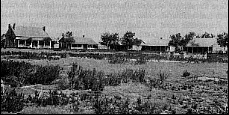 Fort Wallace in 1880