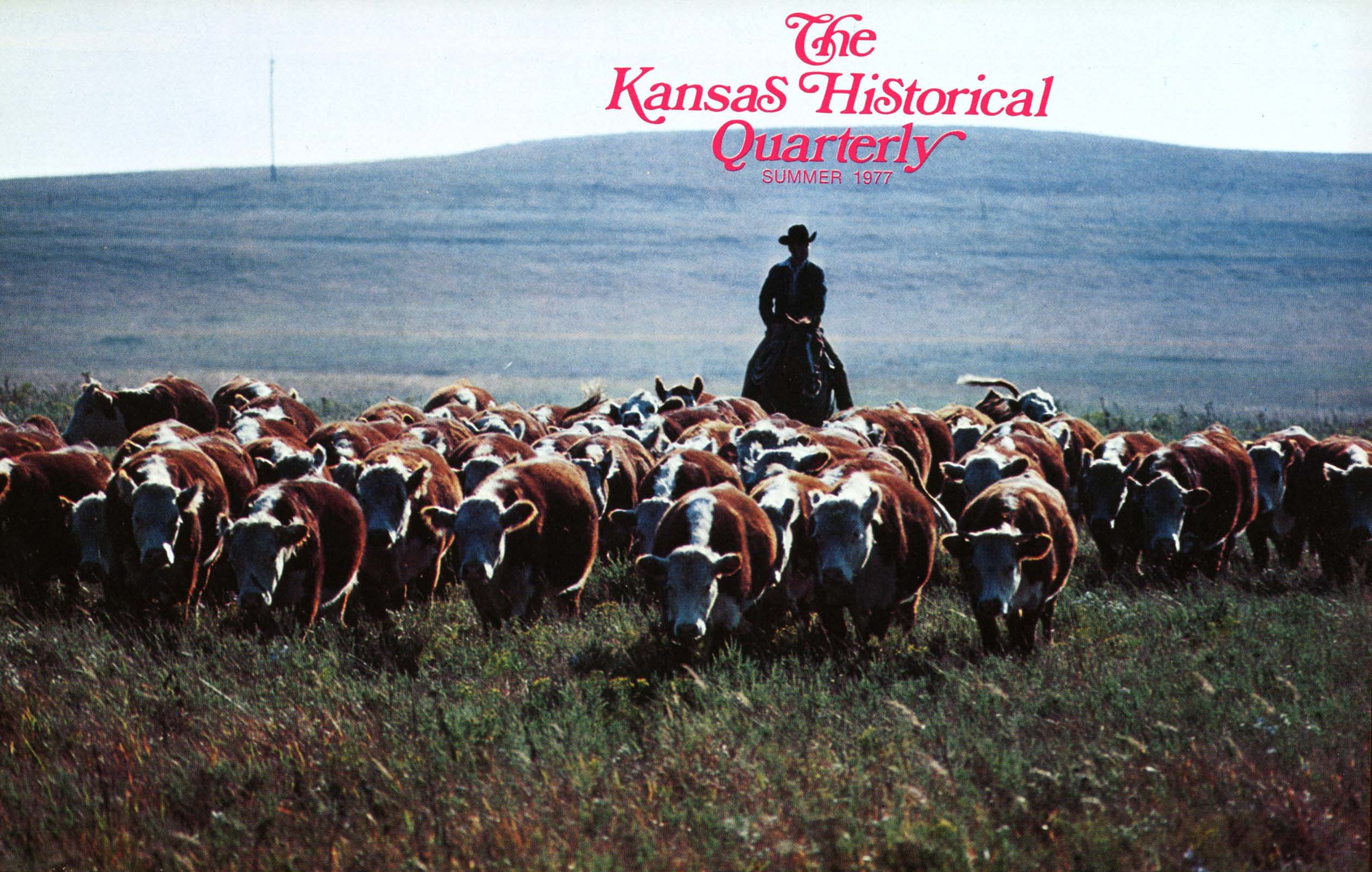 Kansas Historical Quarterly, Summer 1977