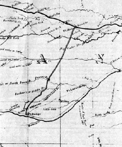 Indian Trail Dodge >> An Old Trail Plowed Under Hays to Dodge - Kansas Historical Society