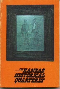 Kansas Historical Quarterly, Autumn 1977