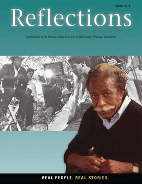 Gordon Parks on cover of Reflections magazine